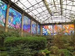 Botanical Garden Station by Cosmovitral Mexico U0027s Amazing Stained Glass Botanical Garden