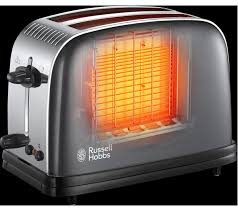 Russell Hobbs Toasters Buy Russell Hobbs Colours Plus 23332 2 Slice Toaster Grey Free