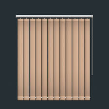 milky brown blackout vertical blind by blinds4value