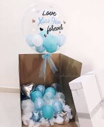 balloon in a box balloon box giftr malaysia s leading online