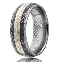 damascus steel wedding band buy wedding rings online vitalium platinum cobalt palladium