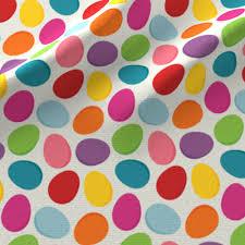easter egg pattern fabric utehil spoonflower