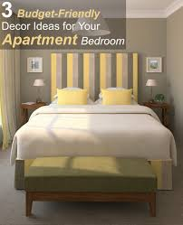 Ideas For Decorating A Small Bedroom 3 Budget Friendly Decor Ideas For Your Apartment Bedroom