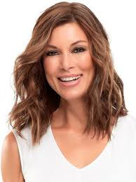 uniwigs halo wavy medium brown hair extentions hair topper top pieces free shipping wigs com the wig experts