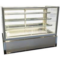 Muffin Display Cabinet Refrigerated Bakery Display Cases Dry Bakery Display Cases