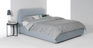 fosse double storage bed persian grey made com