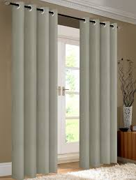 Silver Window Curtains Pair Of Kevin Blackout Window Curtain Panels W Grommets Silver