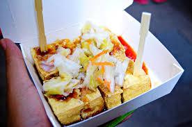 chou cuisine stincky tofu chou tofu stock image image of stinky 42805759