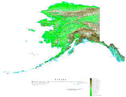 Maps Alaska by Alaska Elevation Map