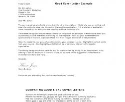 an example of a good cover letter cover letter tips for nanny