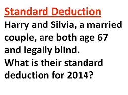 What Is Legally Blind Chapter 8 Income Taxation Of Individuals Exemptions Ppt Download