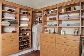interior goldenrod wooden closet designs mixed with single