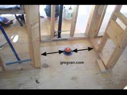 critical wall measurements around your toilet rough framing tips