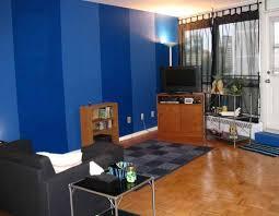 two tone walls bathroom living room blue living two tone walls