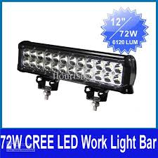 Led Work Light Bar by 6 5 72w Cree 24 Led 3w Work Light Bar Driving Off Road Suv Atv 4wd
