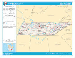 Time Zone Map Of United States by Map Of Tennessee Na U2022 Mapsof Net