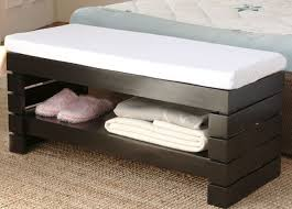 Bed Ottoman Bench Decoration In Bed Ottoman Bench 13 Chairs For Master Bedrooms With