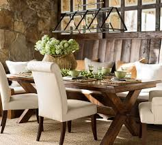 PB Comfort Roll Upholstered Dining Chairs Pottery Barn - Pottery barn dining room chairs