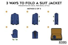 How to fold a dress jacket for travel travelyok co