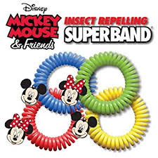 amazon insect repelling disney superband wristbands