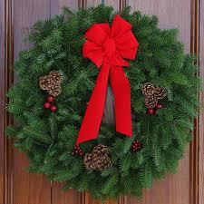 fresh cut classic maine balsam 30 inch wreath free shipping on