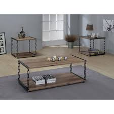 Coffee Tables With Storage by Acme Furniture Jodie Rustic Oak Built In Storage Coffee Table