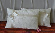 wedding kneeling pillows something blue padrino de cojines pair of linen kneeling pillows