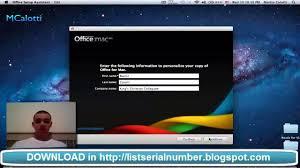 office mac 2011 keygen youtube