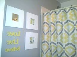 Yellow And Grey Bathroom Ideas Grey Yellow Bathroom Stroymarket Info