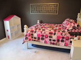 fair purple zebra bedroom design and decoration using light