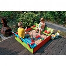 Backyard Sandbox Ideas Wood Sandbox With Cover Foter