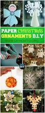 Paper Christmas Ornament Crafts Diy Paper Christmas Ornament Collections With Instructions Paper