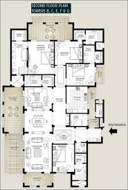 Springs Floor Plans by Floor Plans Of Emaar Mgf The Palm Springs Apartments U0026 Penthouses