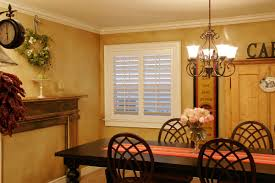 Plantation Style Custom Shutters In Dining Rooms