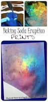 vinegar and baking soda eruption prints science and art combine
