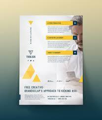 free flyer template psd download by brandsclap