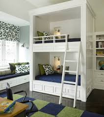 Loft Bed With Desk On Top 50 Modern Bunk Bed Ideas For Small Bedrooms