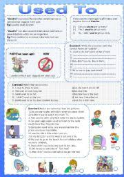 esl worksheets for adults used to