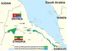 Eritrea Map The Red Sea Is Slipping Into Total Arab Control Amb Herman