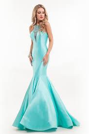 Light Blue Mermaid Dress Rachel Allen 7149 Prom Dress Prom Gown 7149