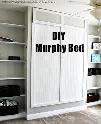 Bunk Bed Murphy Bed Stylish Murphy Bed Diy Plans And How To Build A Side Fold Murphy