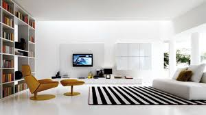 Modern Brown Leather Sofa by Modern Minimalist Bedroom White Elegant Windows Design White Cow