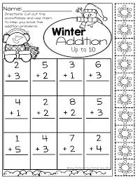 christmas math activities kindergarten count koogra