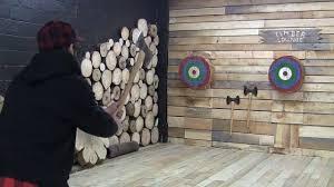 axe throwing growing in popularity across canada youtube