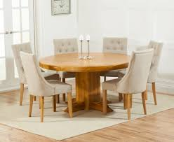 dining room tables for 6 buy mark harris turin solid oak 150cm round dining set with 6