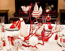 Christmas Decorations On Dining Table by Table Decorations For Christmas Decorate The Table Holiday