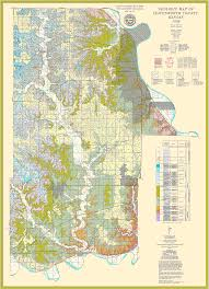 Kansas Counties Map Kgs Geologic Map Leavenworth Large Size