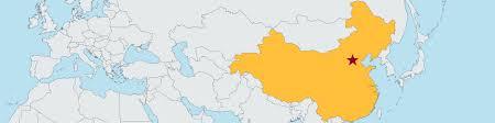 Beijing On World Map by Tsinghua University Of Economics U0026 Management Beijing