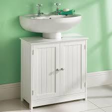 White Wooden Bathroom Furniture Bedroom Cabinet Shelf Livingurbanscape Org