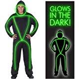 Halloween Stick Person Costume Glow Dark Stick Man Halloween Costume Holidappy